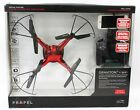 Propel Graviton + WiFi 2.4GHz Quadrocopter Live Video Streaming NEW