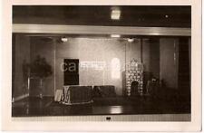 VIRGINIA HEIGHTS Baptist Church Christmas Stage ROANOKE VA Vintage 1944 Photo