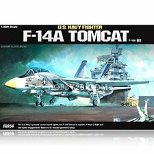 Academy 12253 US Navy Fighter F-14 Tomcat Air Craft Combat Plane Figure