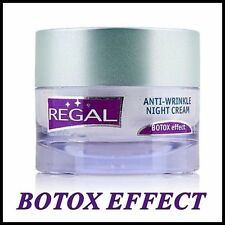 TOP PRICE Regal Age Control Anti Wrinkle NIGHT Face and neck Cream Hyaluron Lift
