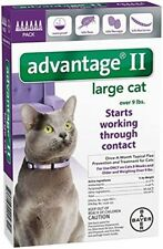 Advantage II for Large Cats over 9 lbs - 6 Pack - EPA Approved!!