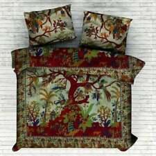 Indian Mandala Duvet Cover Set Donna Cover Bedding Throw Cotton Tree Of Life Art