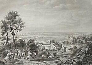 Siège de Lille 1667 guerre de Dévolution Louis XIV Vauban France Gravure 1840