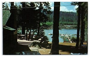 1974 Fish Lake at Mt. McLoughlin, OR Postcard