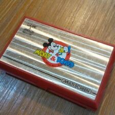 Nintendo Game Watch Mickey and Donald MULTI SCREEN Junk For Parts