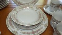 China Dinnerware Set Trianon by SANGO Majesty collection Service for 12 mostly