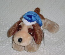 HOLIDAY TIME  ** PUPPY ** BROWN AND TAN * SO CUTE ** 9  INCHES ** NEW **