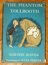 THE PHANTOM TOLLBOOTH Norton Juster Jules Feiffer 1965 5th printing HBDJ L1