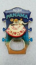 PANAMA,Hard Rock Cafe,MAGNET BOTTLE OPENER GUITAR HEAD