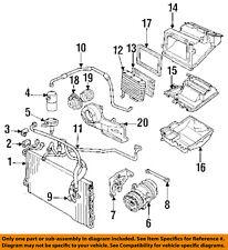 Pontiac GM OEM 1988 Sunbird 2.0L A/C Condenser Compressor Line-AC Hose 22545477