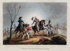 1812 Antique Print - Military BATTLE OF CORUNNA Coruna SPAIN Sir John Moore (12)