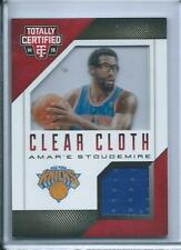 2014-15 Totally Certified Clear Cloth Jerseys Red Amar'e Stoudemire /299 Knicks