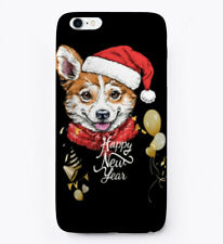 Must-have Happy New Year Pembroke Welsh Corgi Gift Phone Gift Phone Case iPhone