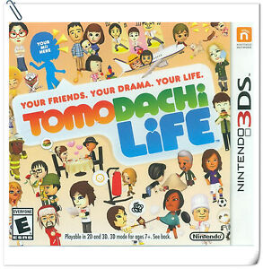 3DS Tomodachi Life Nintendo Misc Games