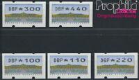 BRD ATM2.2.2 Satz komplett postfrisch 1993 Automatenmarke (8984907