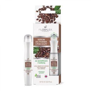 Floslek Pharma Lid & Under Eye Serum with Eyebright & Caffeine 15ml