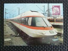 BUND MK 1976 847 EISENBAHN TRAIN ICE MAXIMUMKARTE CARTE MAXIMUM CARD MC CM c5154