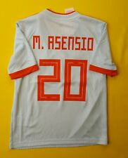 9a80fef6f 5+ 5 Asensio Spain kids jersey 9-10 years 2018 away shirt BR2694