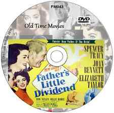 Father's Little Dividend  -  Spencer Tracy, Elizabeth Taylor  Film on DVD 1951
