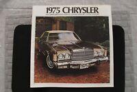 1975 CHRYSLER SALES BROCHURE