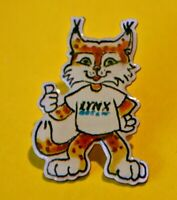 "Pin's lapel pin Pins LYNX OPTIQUE ""Vue de chat ou de Lynx"" Félin"