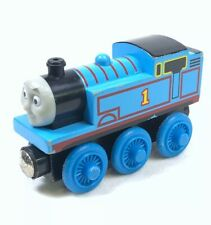 Thomas The Train & Friend Wooden Railway #1 Blue Engine Magnetic