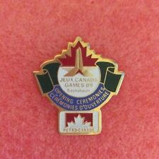 Pins JEUX CANADA GAMES 89 Saskatoon Opening Cérémonies Ouverture PETRO CANADA