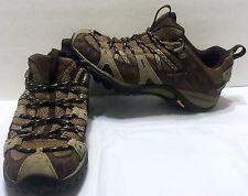 Merrell Siren Sport Espresso Hiking Shoes Size 7 Vibram Soles Trail Hike Brown