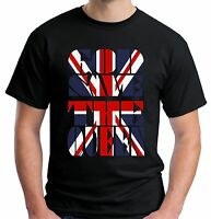 Velocitee Mens God Save The Queen T Shirt Union Flag Jack GB UK Royalty V137