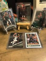 Giannis Antetokounmpo Lot (5) Cards Panini Prizm and Threads MVP See Below Bucks