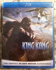 Peter Jackson's KING KONG * Blu-ray Disc - 2009 Version-Plastic Wrapped/Like New