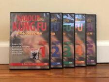 Shaolin Temple Kung Fu (5) Dvd Set dragon leopard crane snake black tiger forms