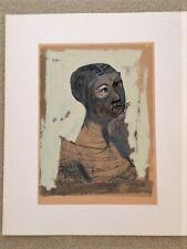 """RARE SIGNED LIMITED EDITION (#16) Marino Marini Litho - """"Ritratto"""" - """"Portrait"""""""