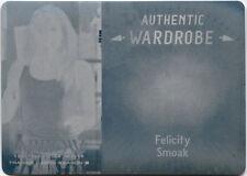 Arrow Season 3 Printing Plate Costume Wardrobe Card M20 Felicity Smoak Cyan