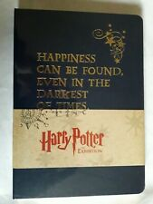 HARRY POTTER THE EXHIBITION HARDBACK NOTEBOOK SEALED LARGE 8X6 GOLD EMBOSSING