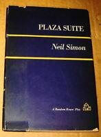 NEIL SIMON PLAZA SUITE PLAY BOOK HC DJ 1969 GEORGE SCOTT BROADWAY HOTEL NICHOLS