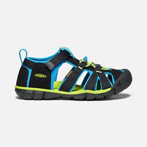 Keen Kinder Sandalen, SEACAMP II CNX / black/brillant blue / Gr: 34