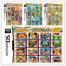 208/486/502/520 IN 1 Games Card Cartridge Multicart For Nintendo DS 3DS 2DS Gift