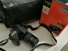 Sony Alpha SLT-A77V 24.3MP Digital SLR-Negra (solo Cuerpo)