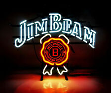 "New Jim Beam Whiskey Beer Bar Neon Light Sign 17""x14"""