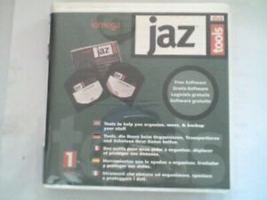 IOMEGA JAZ 1Gb Tool Disk & Plastic Case - 1 Pack (1 Disk) - PC Formatted - USED