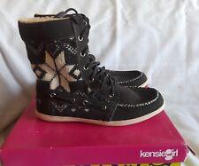 Women Kensie Girl Spenser Boots Gray Beige 7.5M