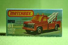 Modellauto - Matchbox - Superfast - Nr. 61 Wreck Truck - OVP