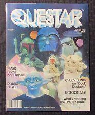 1980 Aug QUESTAR Magazine FN+ 6.5 Star Wars Empire Strikes Back