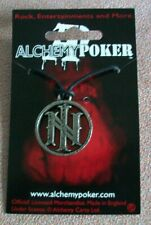 More details for alchemy poker pewter pendant official band merchandise pp424 ill nino.