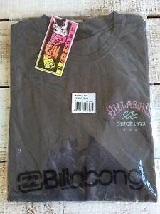 """Billabong """"Get Back""""Short Sleeve T-Shirt Charcoal Grey,Size Medium 40-42"""" Chest"""