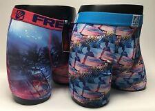 Freegun Miami Beach Inspired Mens Boxer Underwear Trunks Short Athletic Fit