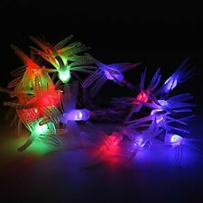 Rusee Battery Operated String Lights, 20 LED Battery-Powered Dragonfly String