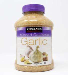 Kirkland Signature Minced California Garlic 1.36kg