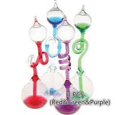 Glass Science Hand Boiler 3 PCS (Red&Green&Purple)